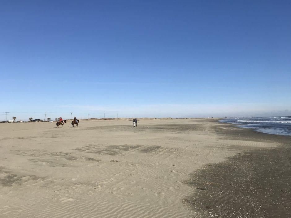 九十九里浜、本須賀海岸